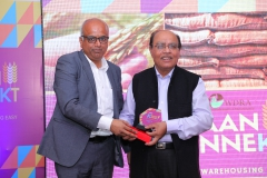 Mr. Kedar Deshpande felicitating Dr. B.B. Pattanaik